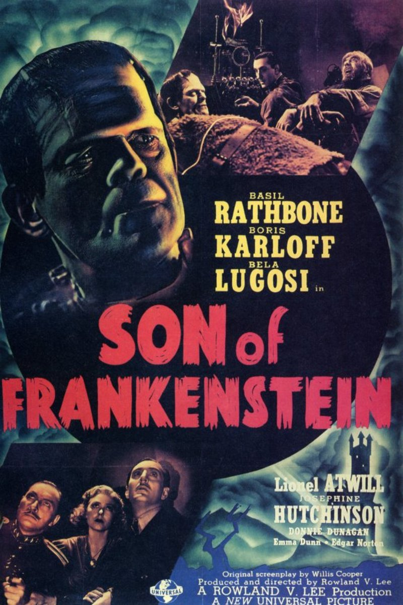 Horror 1930-1939 - 100 Years of Movie Posters - 13 | hubpages