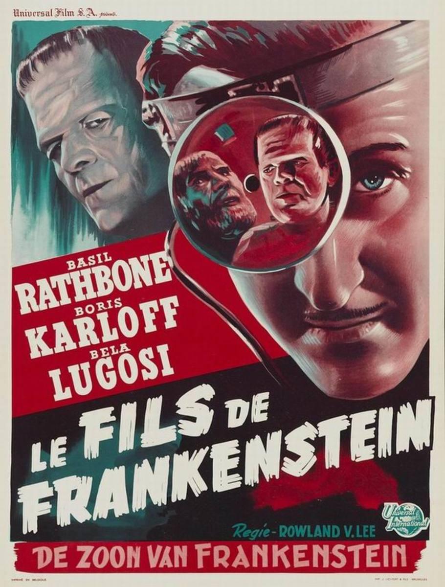 Son of Frankenstein (1939) French poster