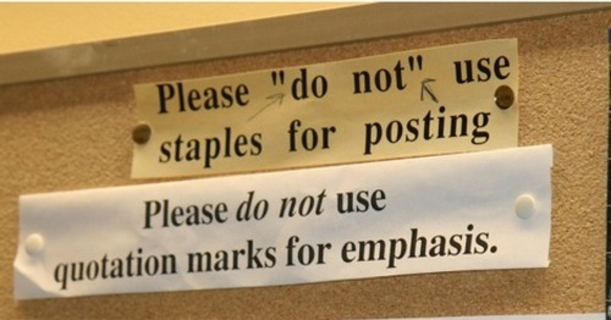 Writing Tips: How To Use Quotation Marks | hubpages