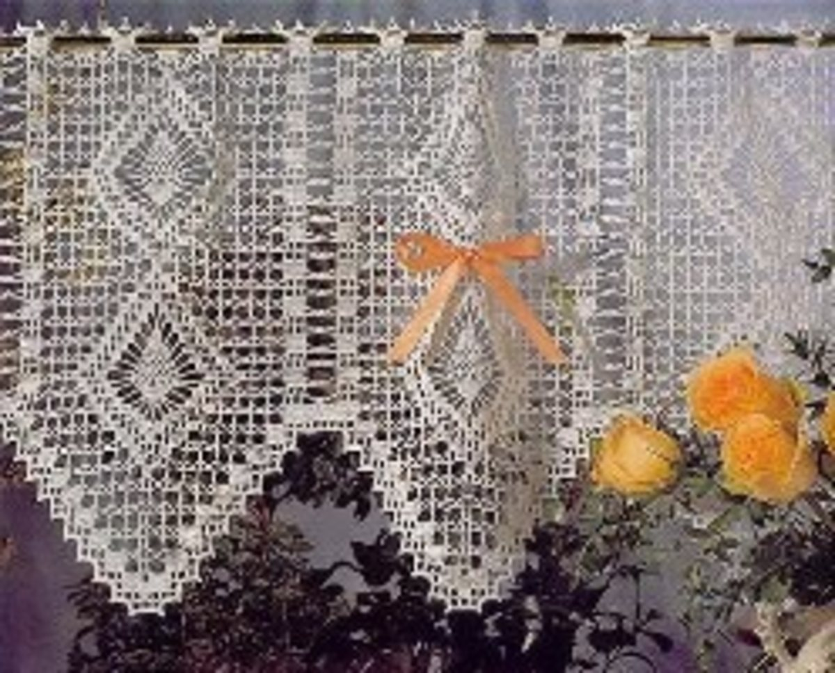 Crochet Curtains Can Work in any Home