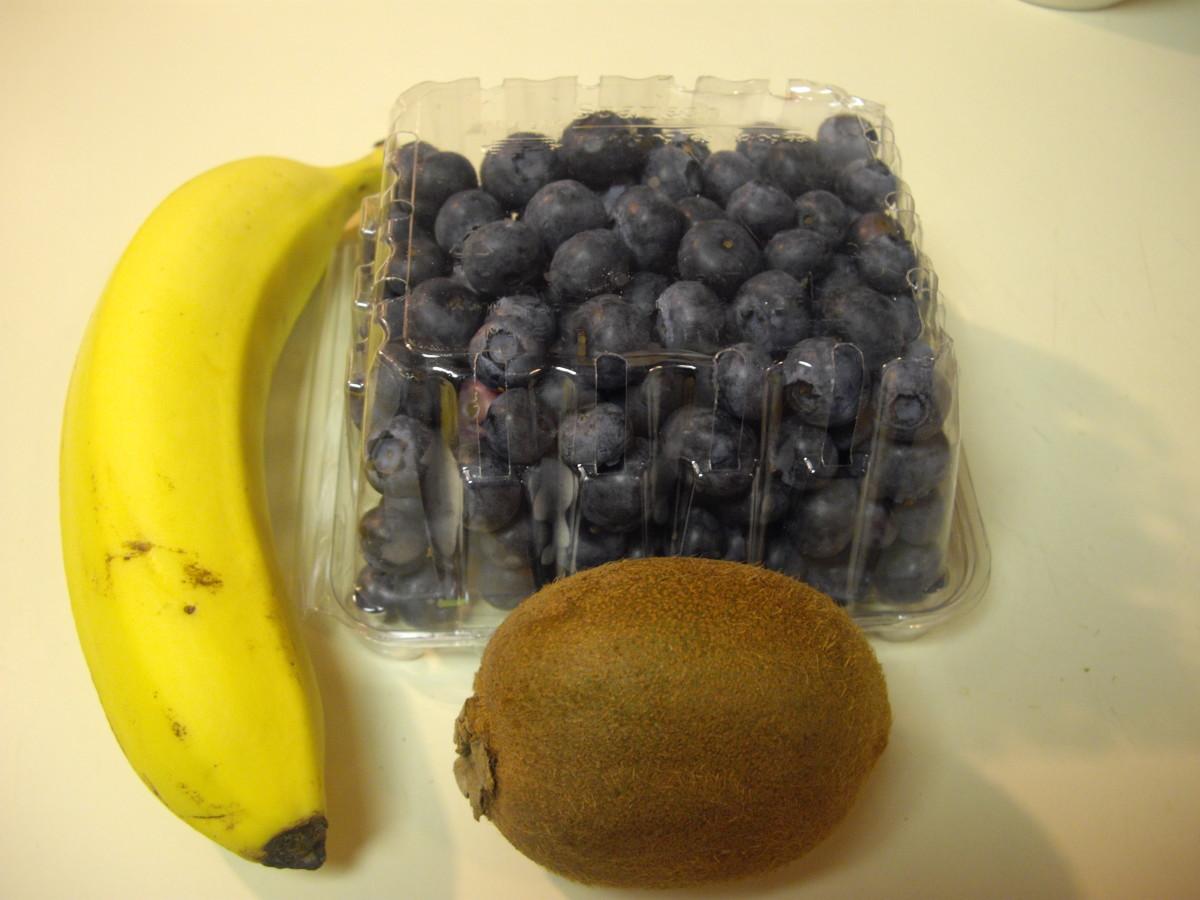 Take out desired fruit