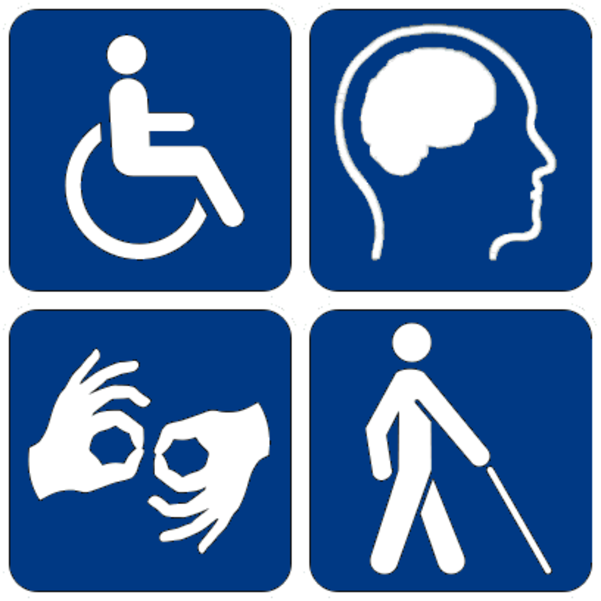 Disability symbol.