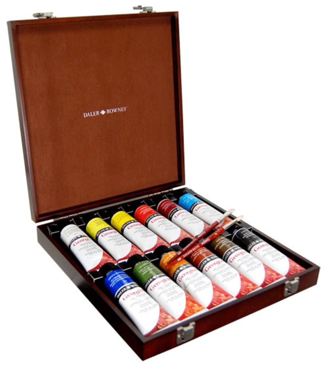 Daler-Rowney Georgian Oil Paint Set