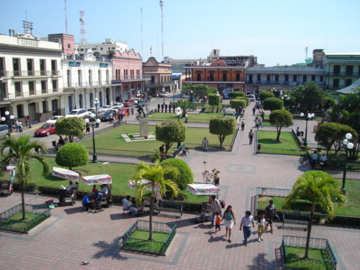 HISTORIC CENTER OF TAMPICO MEXICO