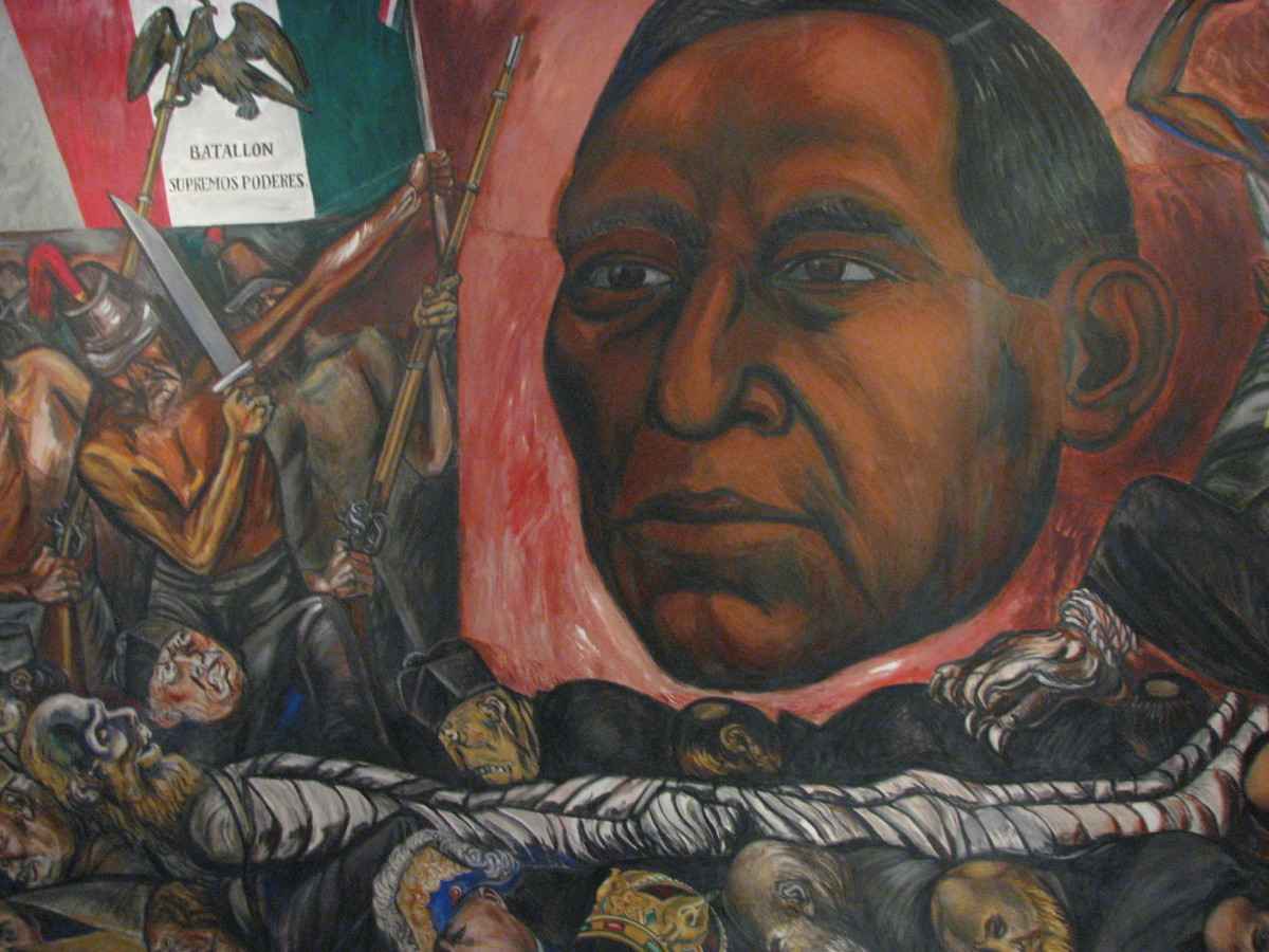 MURAL OF BENITO JUAREZ