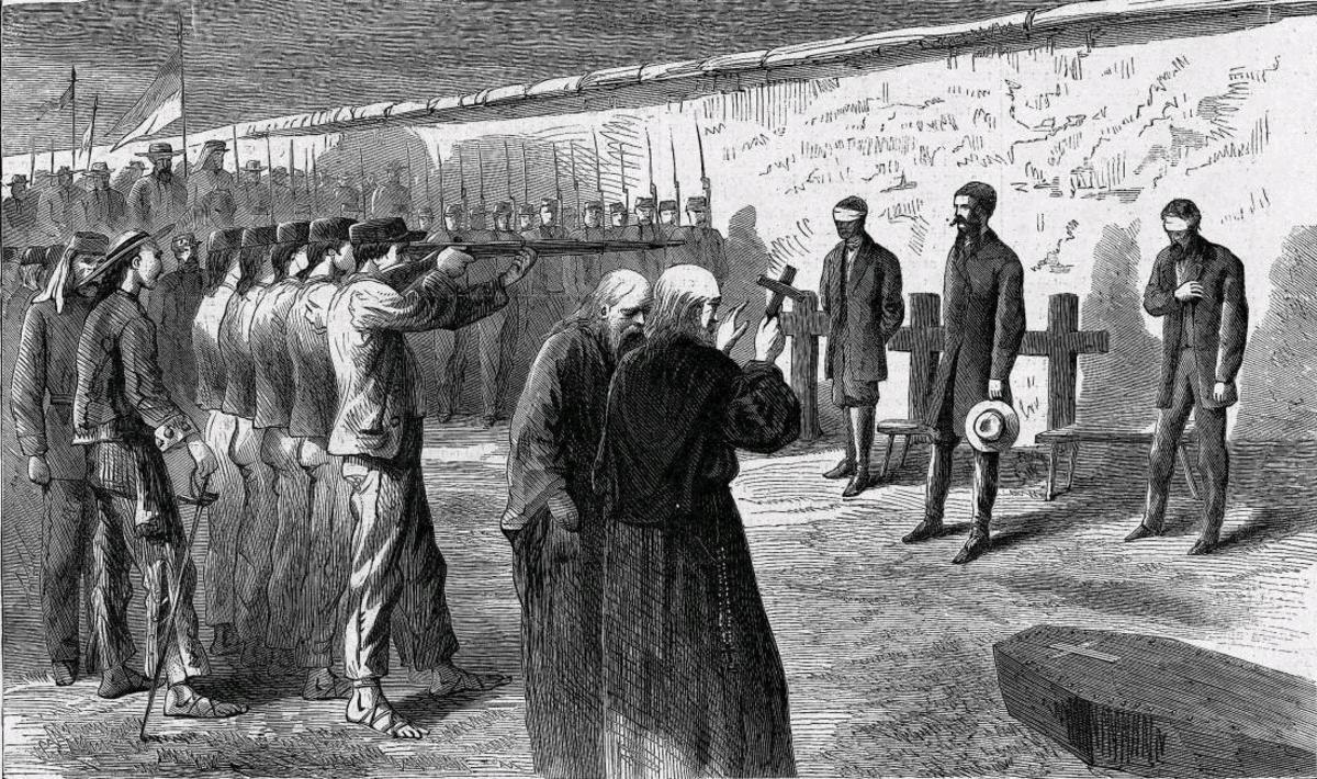 EXECUTION OF MAXIMILIAN I