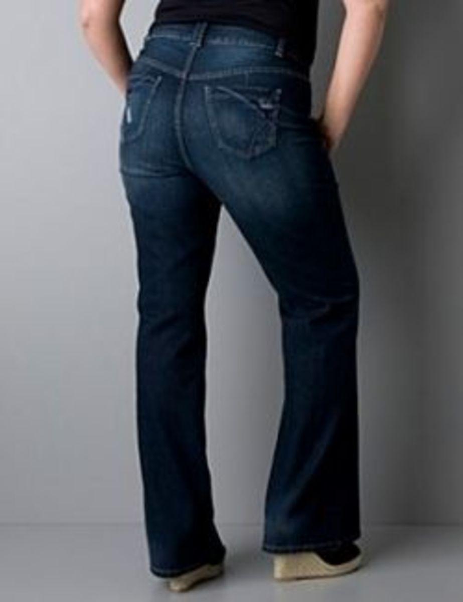 plus size denim jeans from Lane Bryant