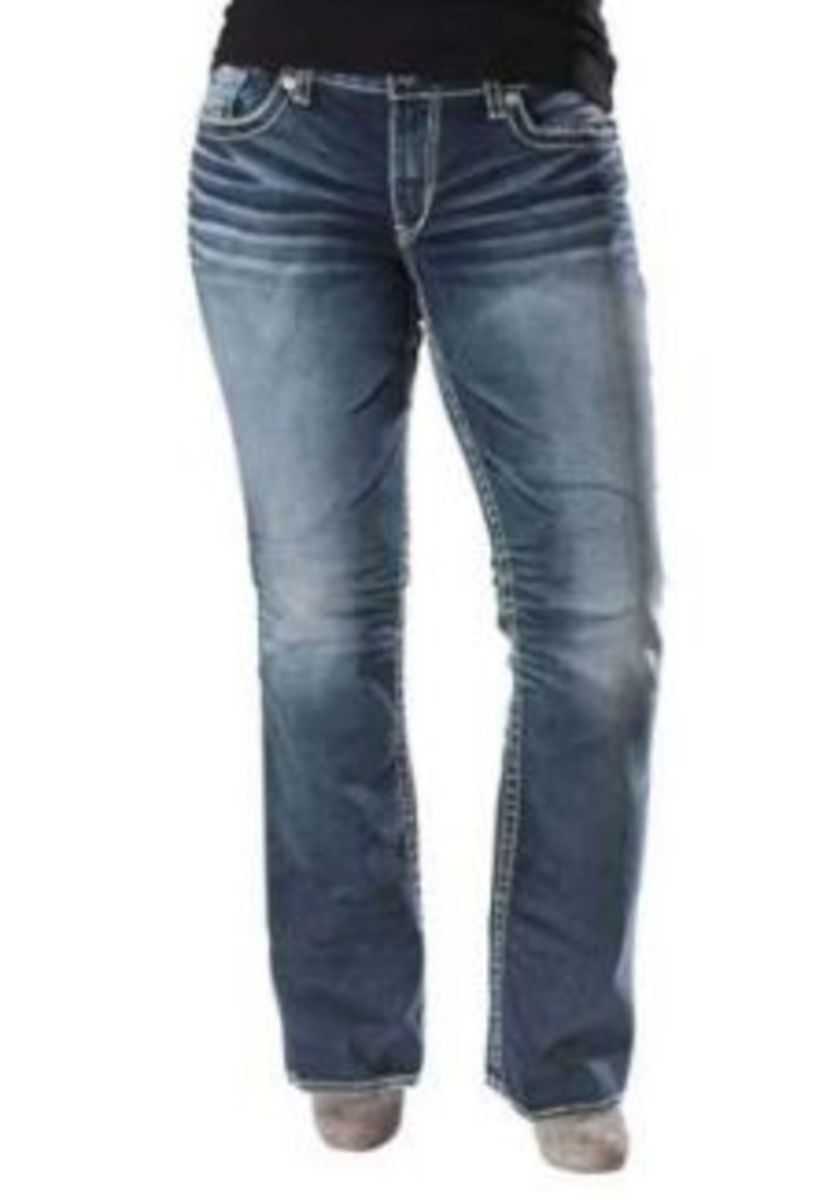 Silver Jeans Extended Sizes