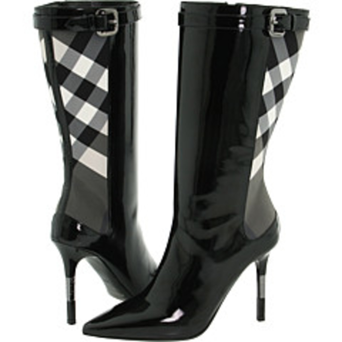 BURBERRY PATENT BOOTS