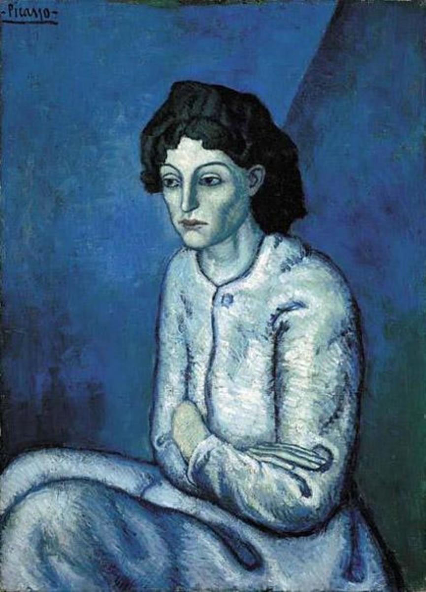 Femme aux Bras Croisés / Woman with Folded Arms (1901-1902)