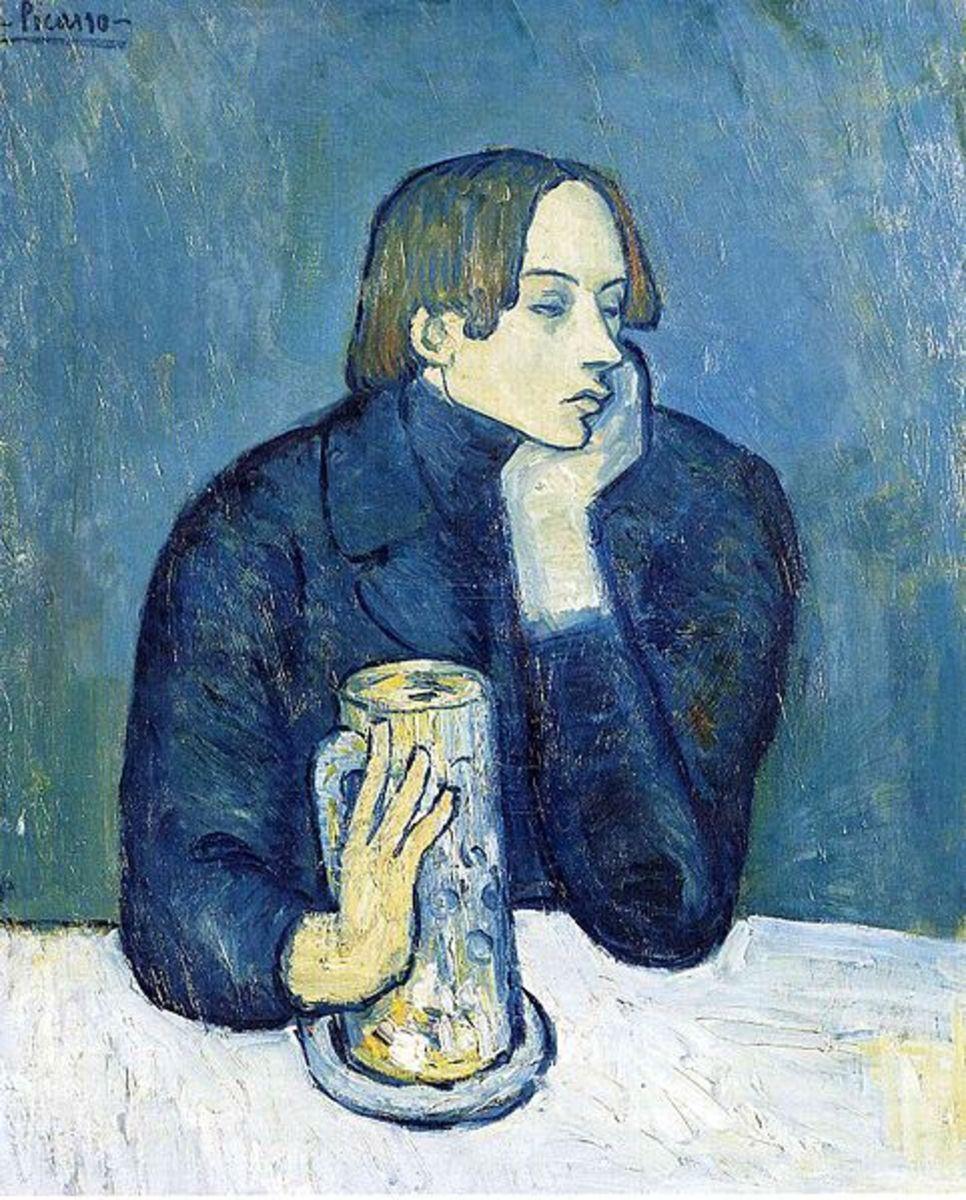 Le Bock / Portrait de Jaime Sabartes (1902)