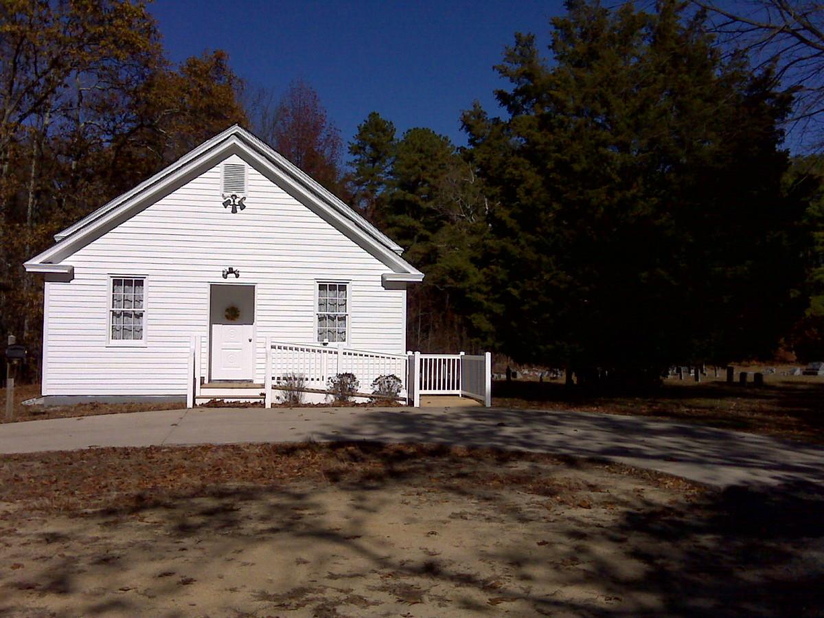 Atsion Church and cemetary.