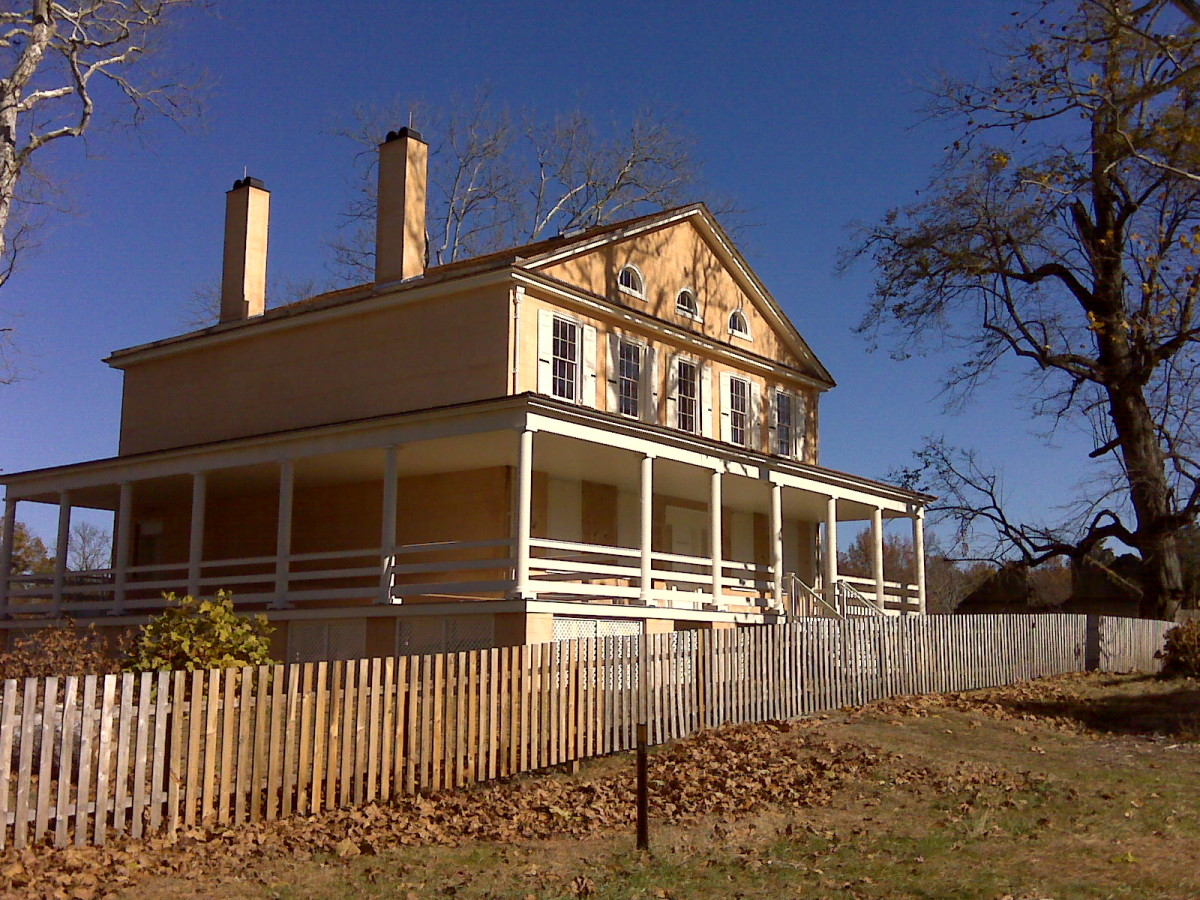 The Impressive Richards Mansion