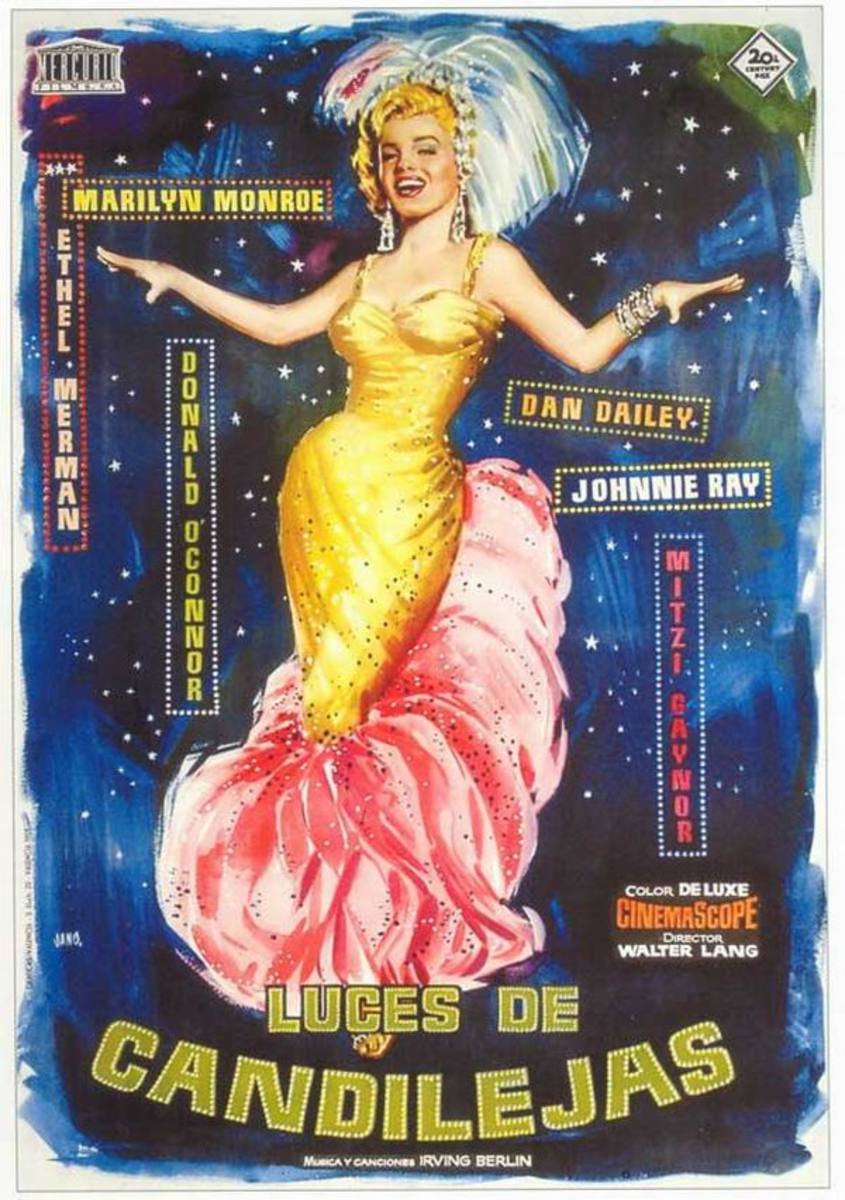 There's No Business Like Show Business (1954) Spanish poster