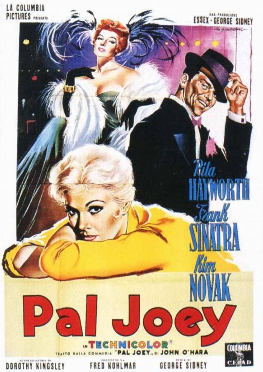 Pal Joey (1957) Italian poster