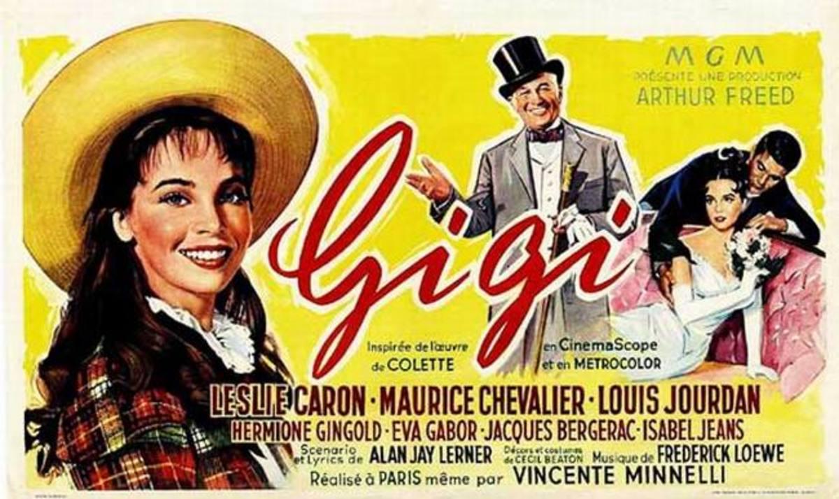 Gigi (1958) Belgian poster