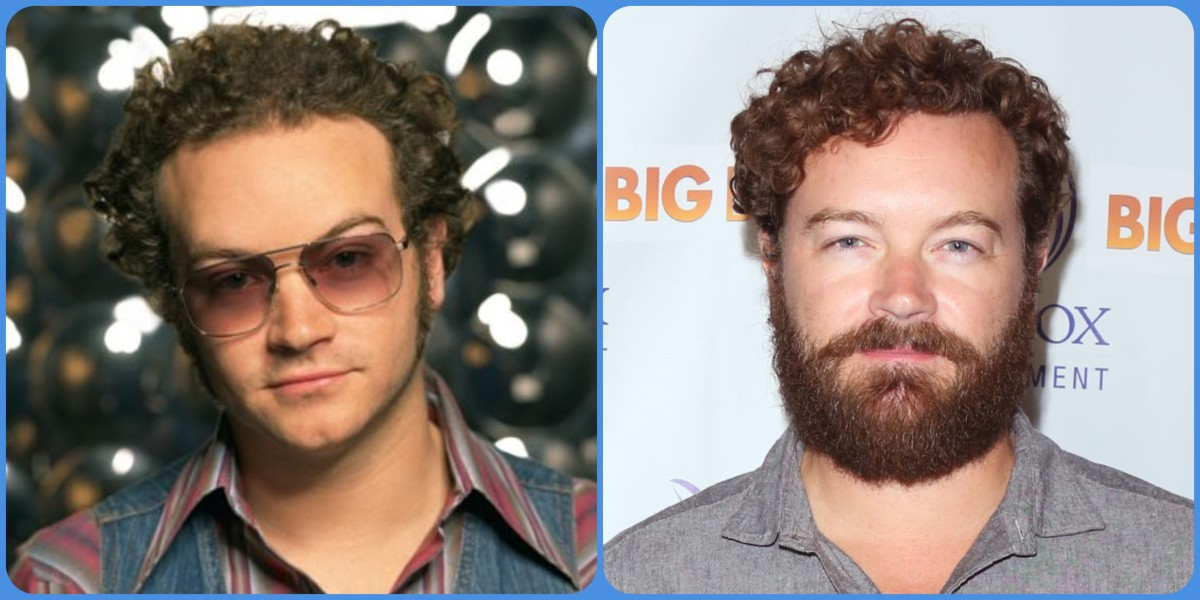 Danny Masterson then and now