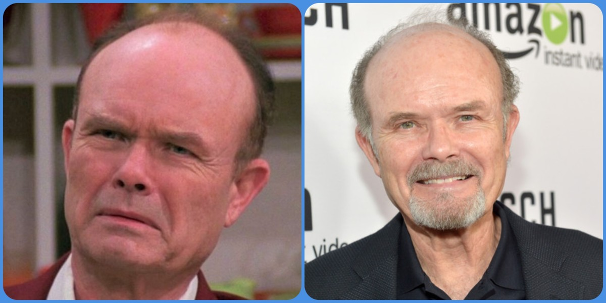 Kurtwood Smith then and now