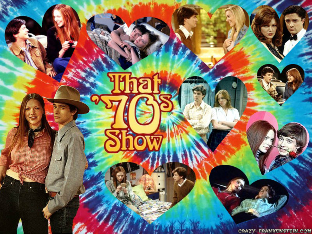 Fan art of That 70's Show couple Donna and Eric