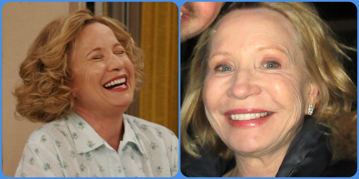 Debra Jo Rupp then and now