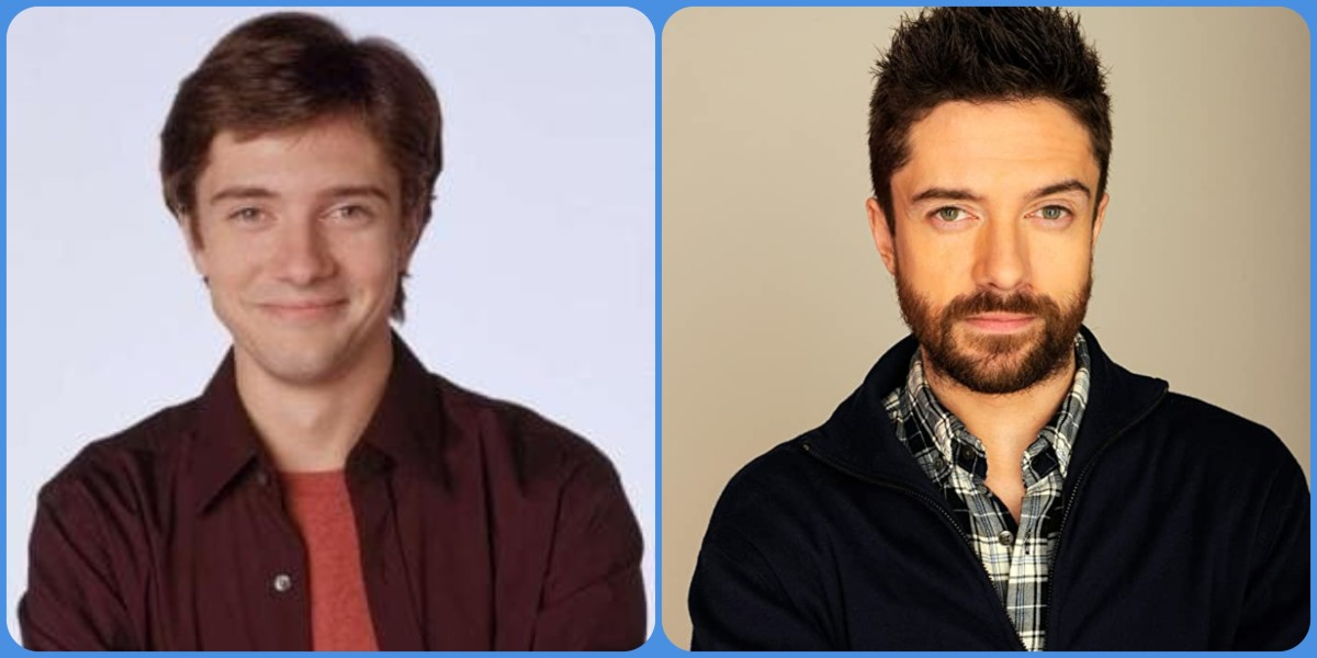 Topher Grace then and now