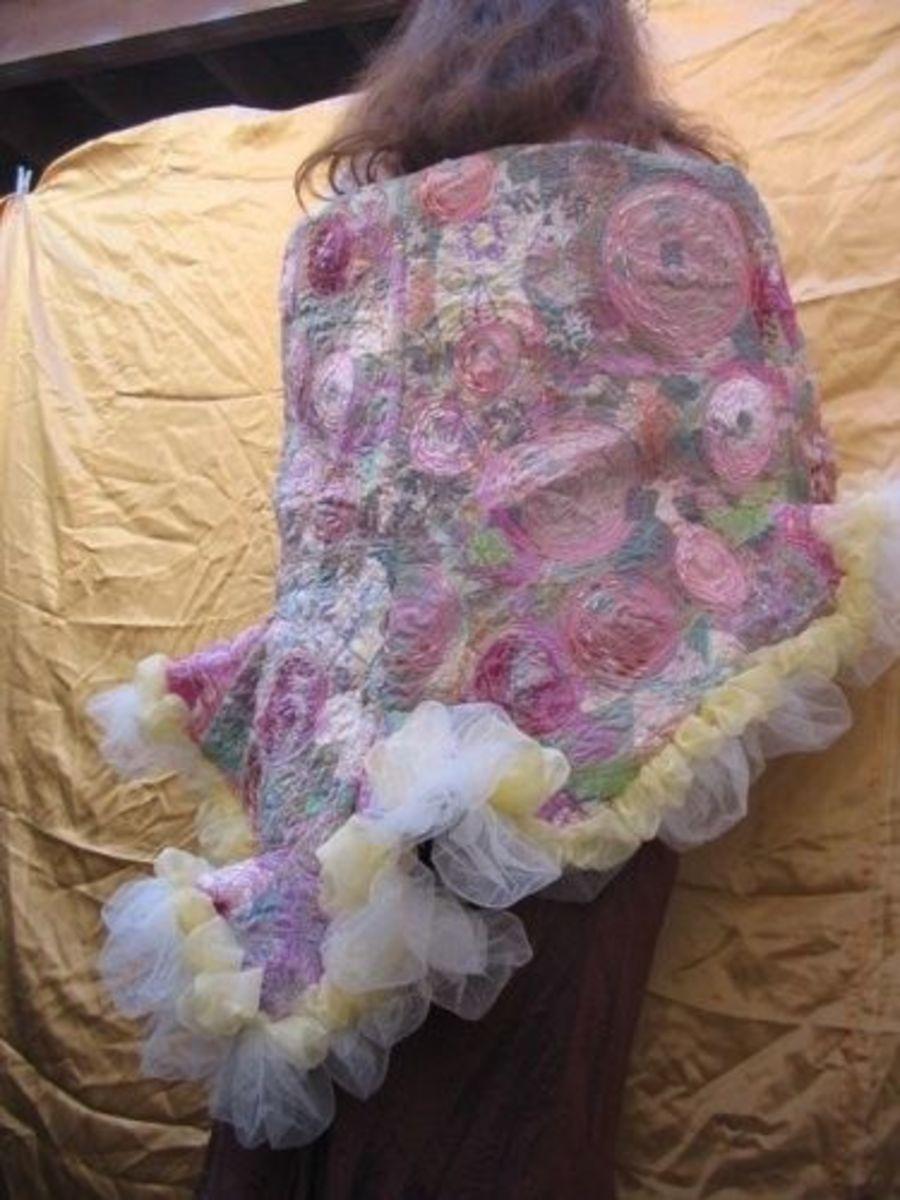Textiles Wrap by MeltedRachel