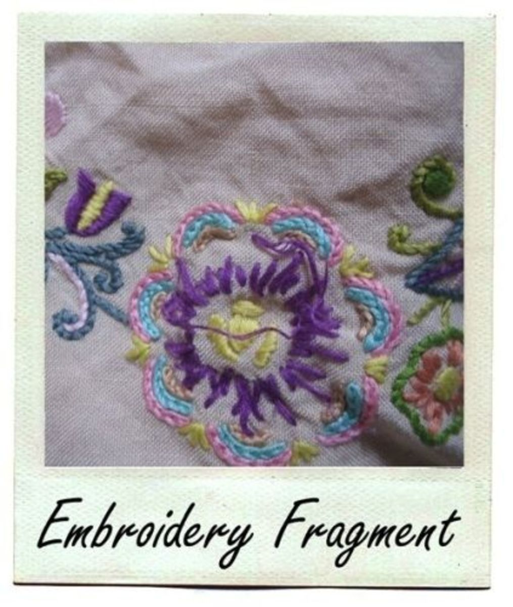 Embroidery Fragment by MeltedRachel