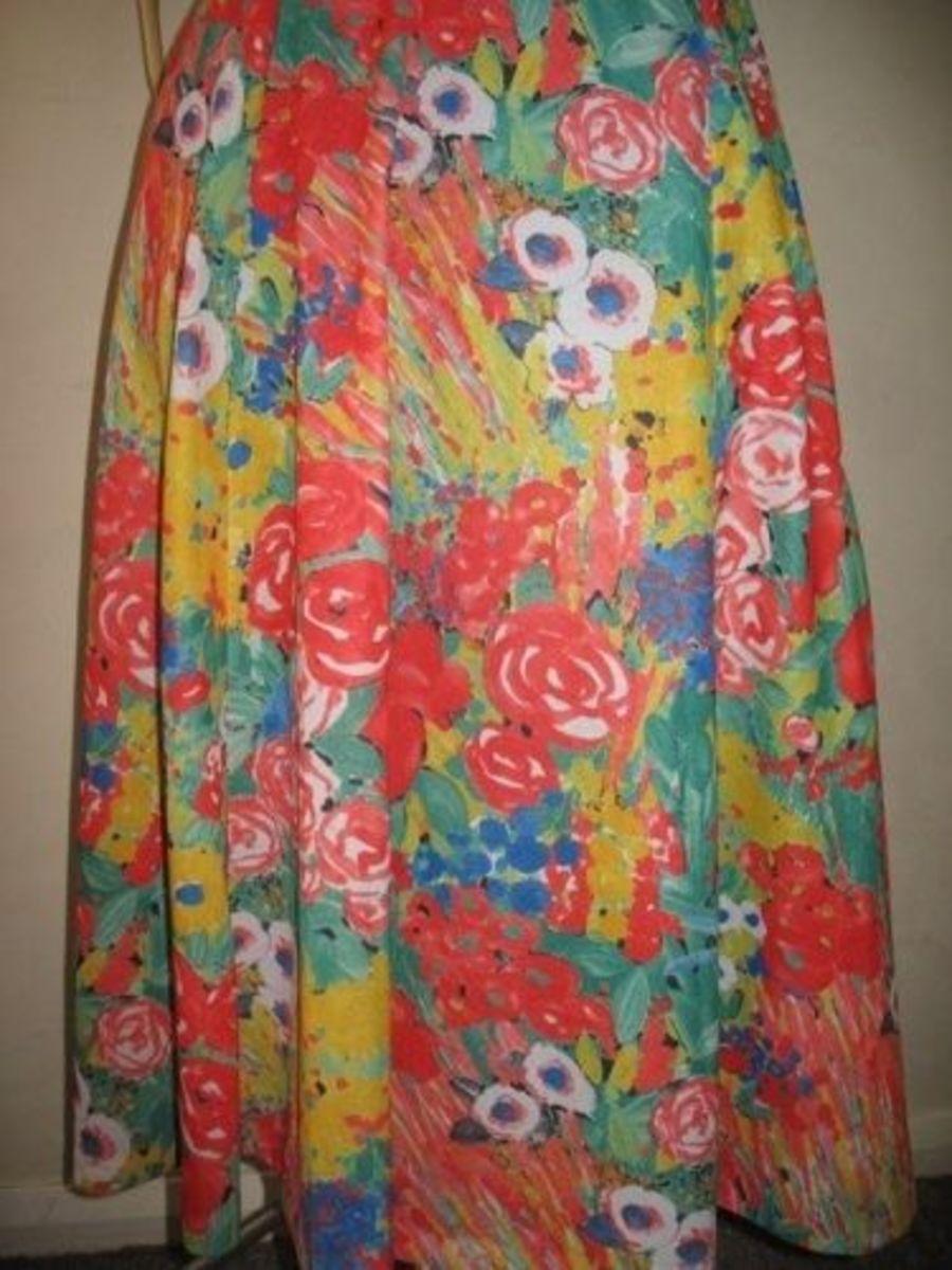 Bright Skirt by MeltedRachel