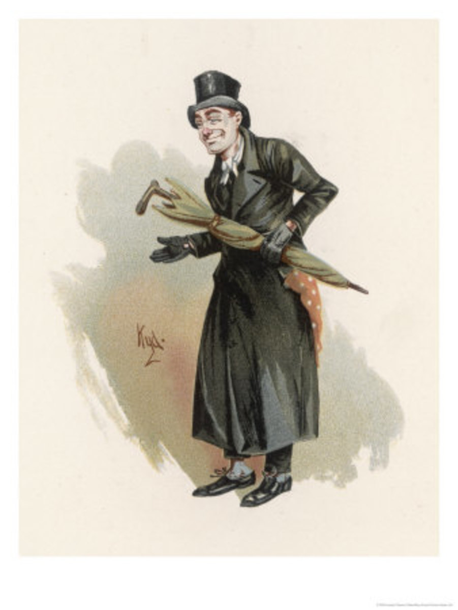 Sampson Brass, a lawyer of no good repute, by Joseph Clayton Clarke