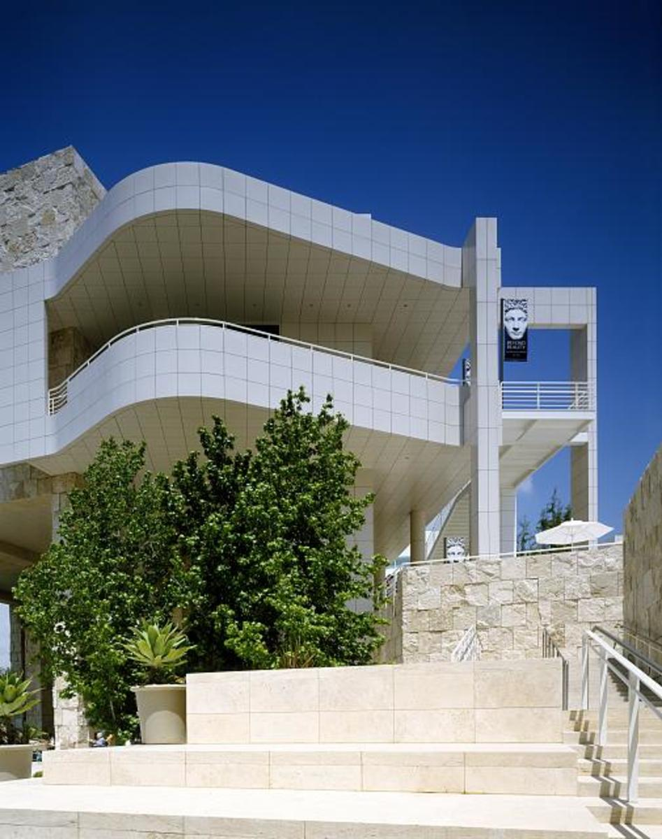 The Getty Center in Los Angeles (Brentwood)