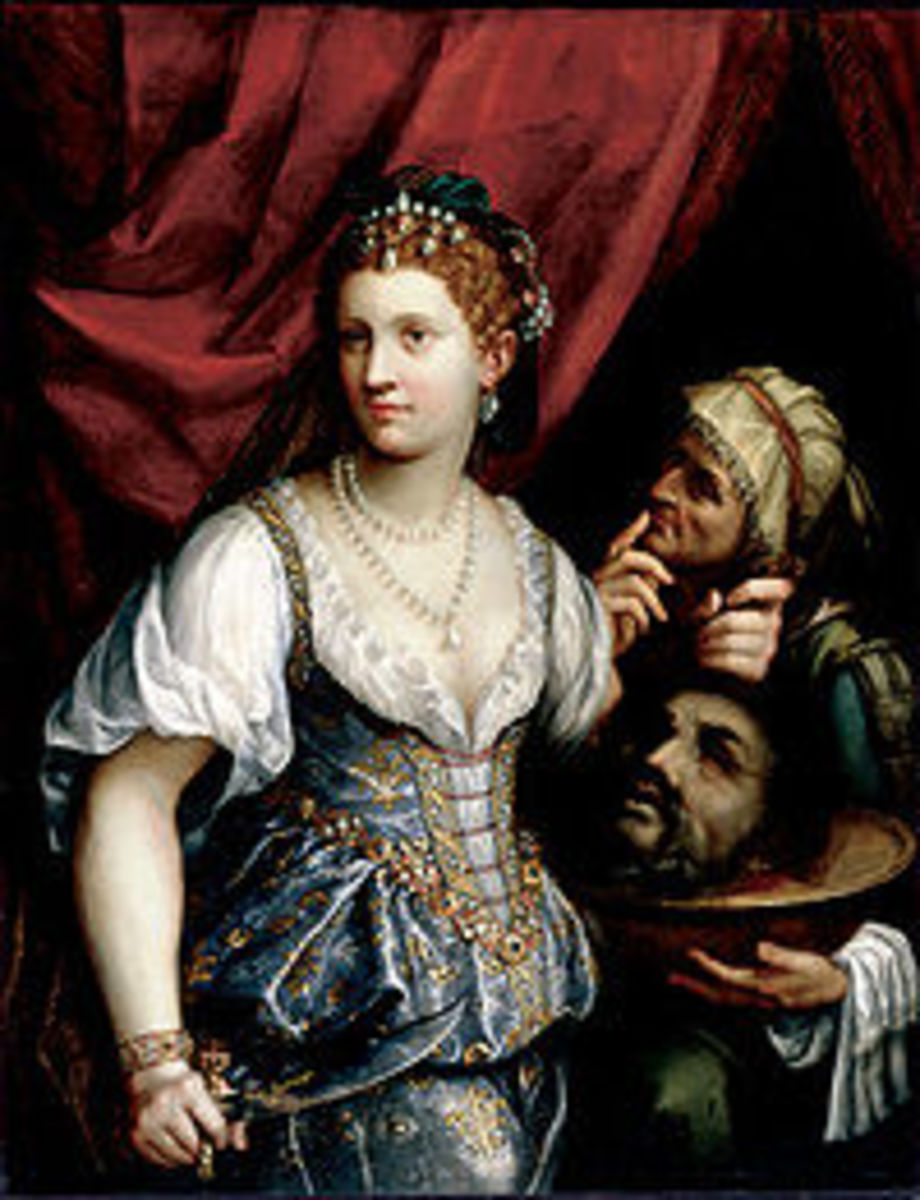 """Fede Galizia """"Judith with the head of Holoferness"""" 1596"""