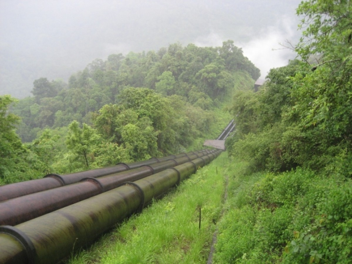 The Penstock Pipes
