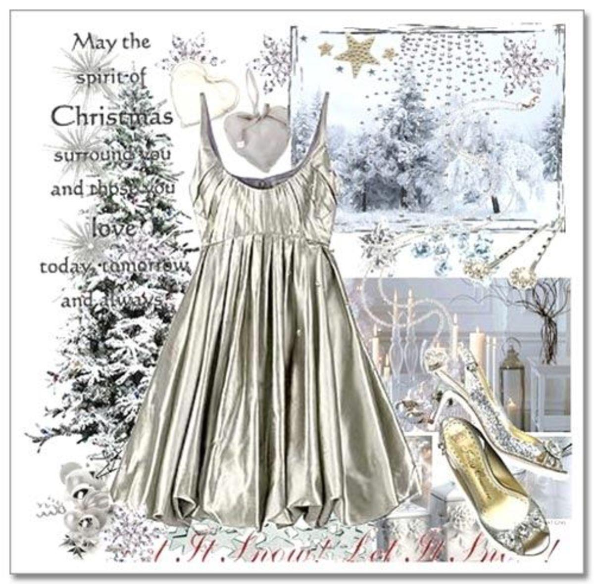 White Christmas Party fashion