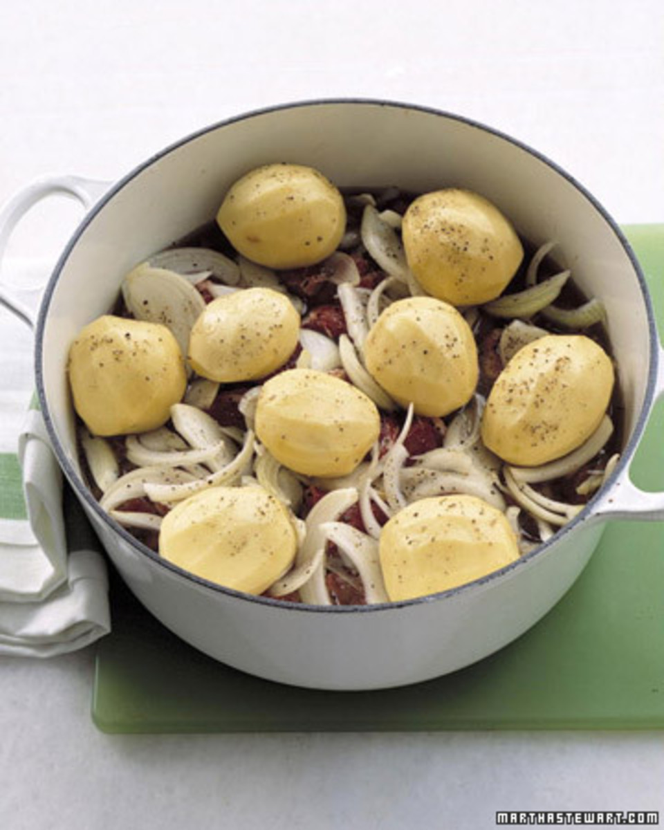 Lamb Stew Recipe: Easy Irish Stew Recipe from Martha Stewart