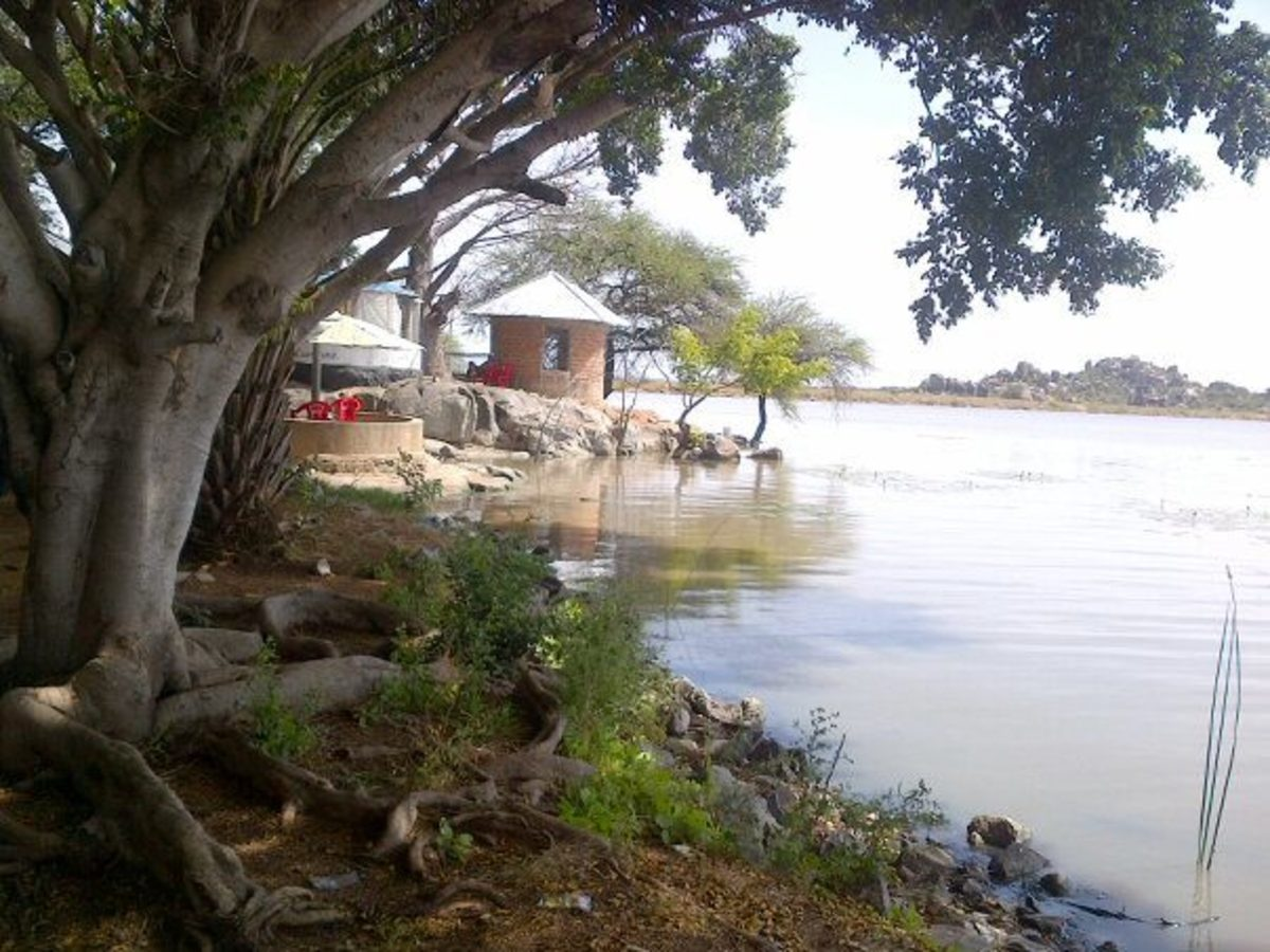 Mwadui Dam © Sonja Jordaan