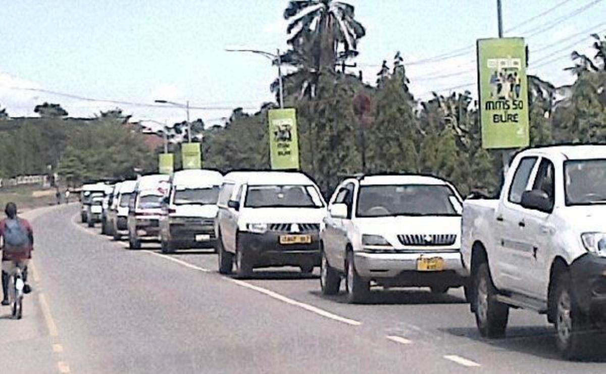 Traffic in Mwanza, Tanzania © Sonja Jordaan
