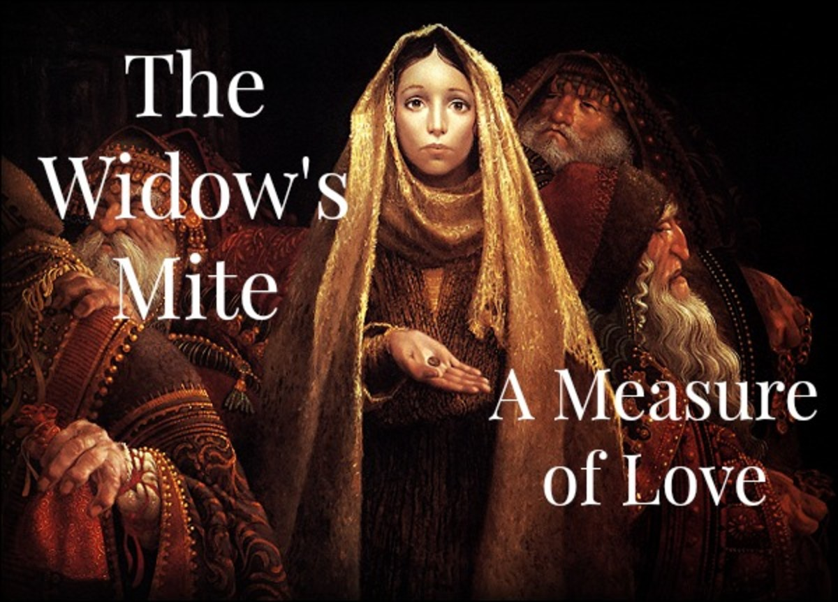 Behind the Widow's Humble Contribution