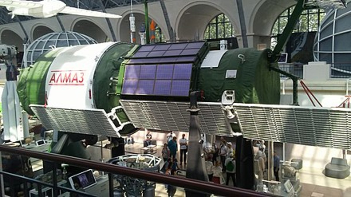 When the Soviets Built an Armed Space Station
