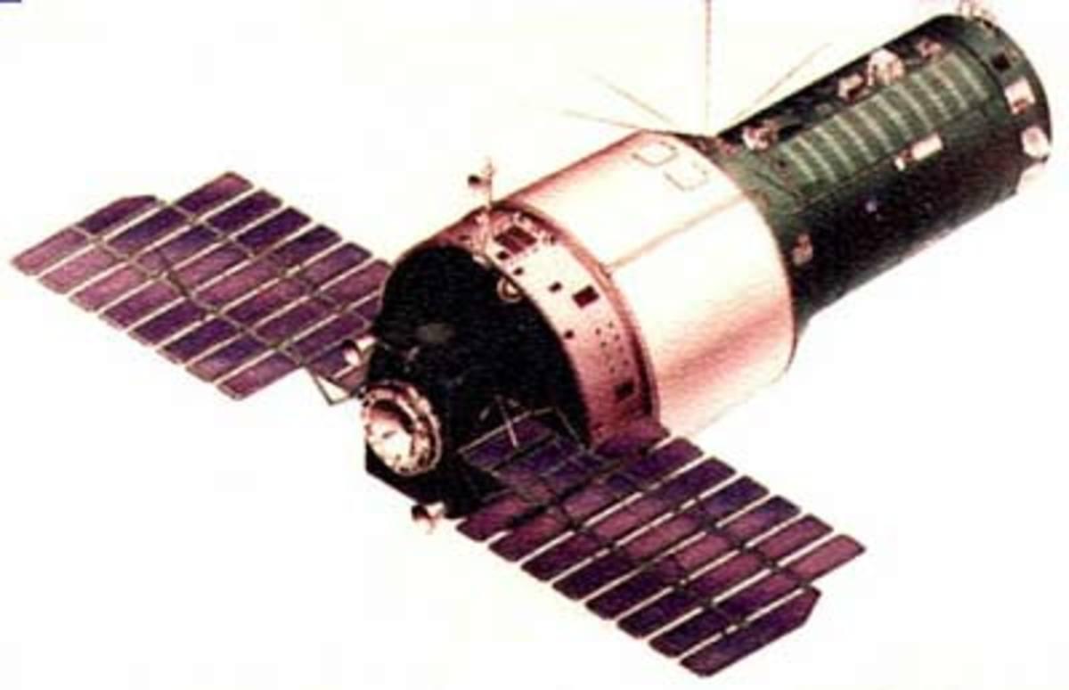 Salyut 3 space station.