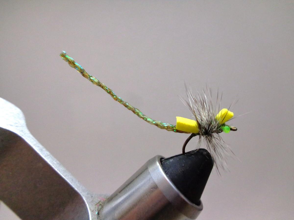 Fly Tying - Damsel Fly Variant