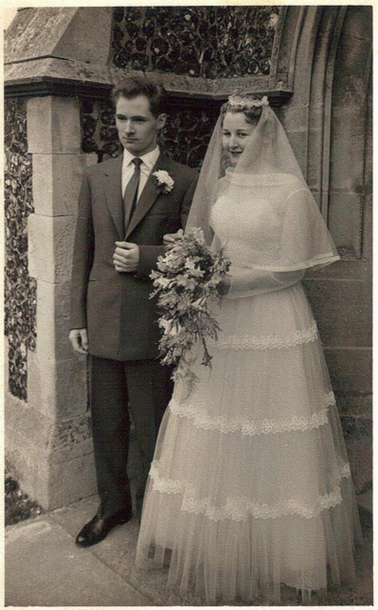 Lovely old wedding photo