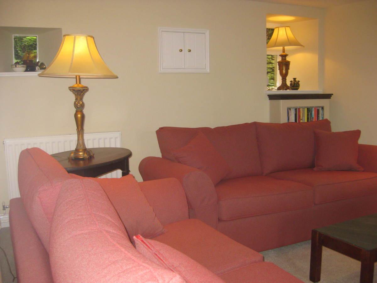 Cozy comfy sofas.