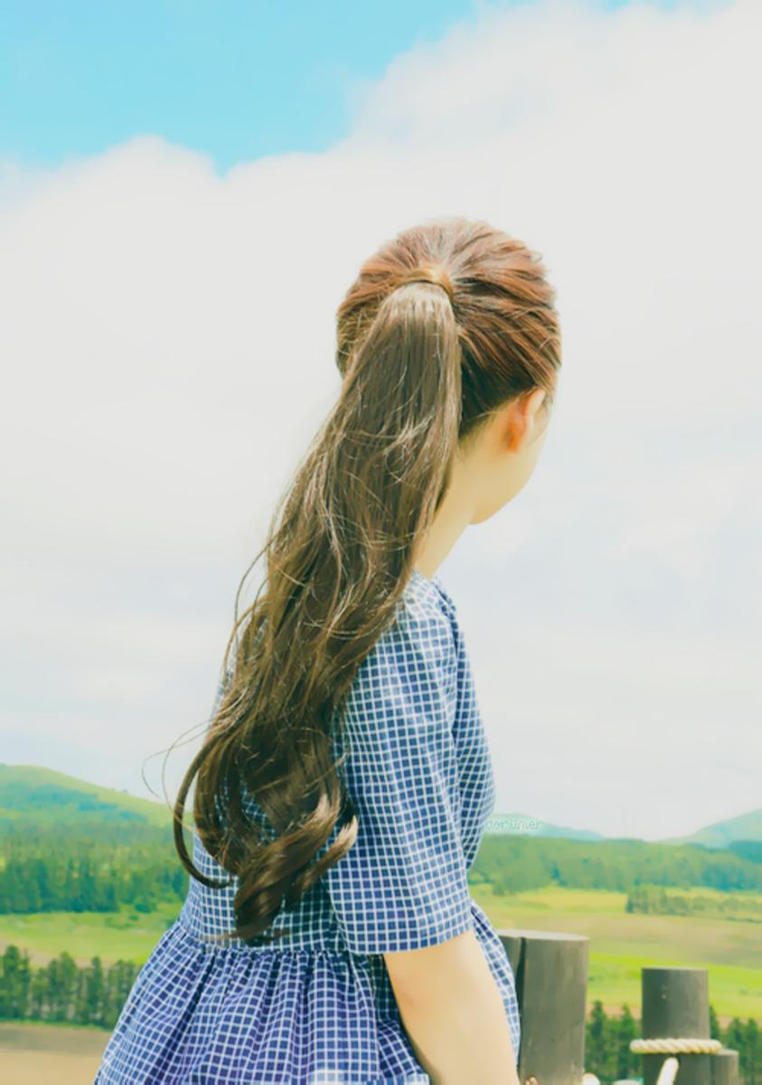 Long hair is healthy hair