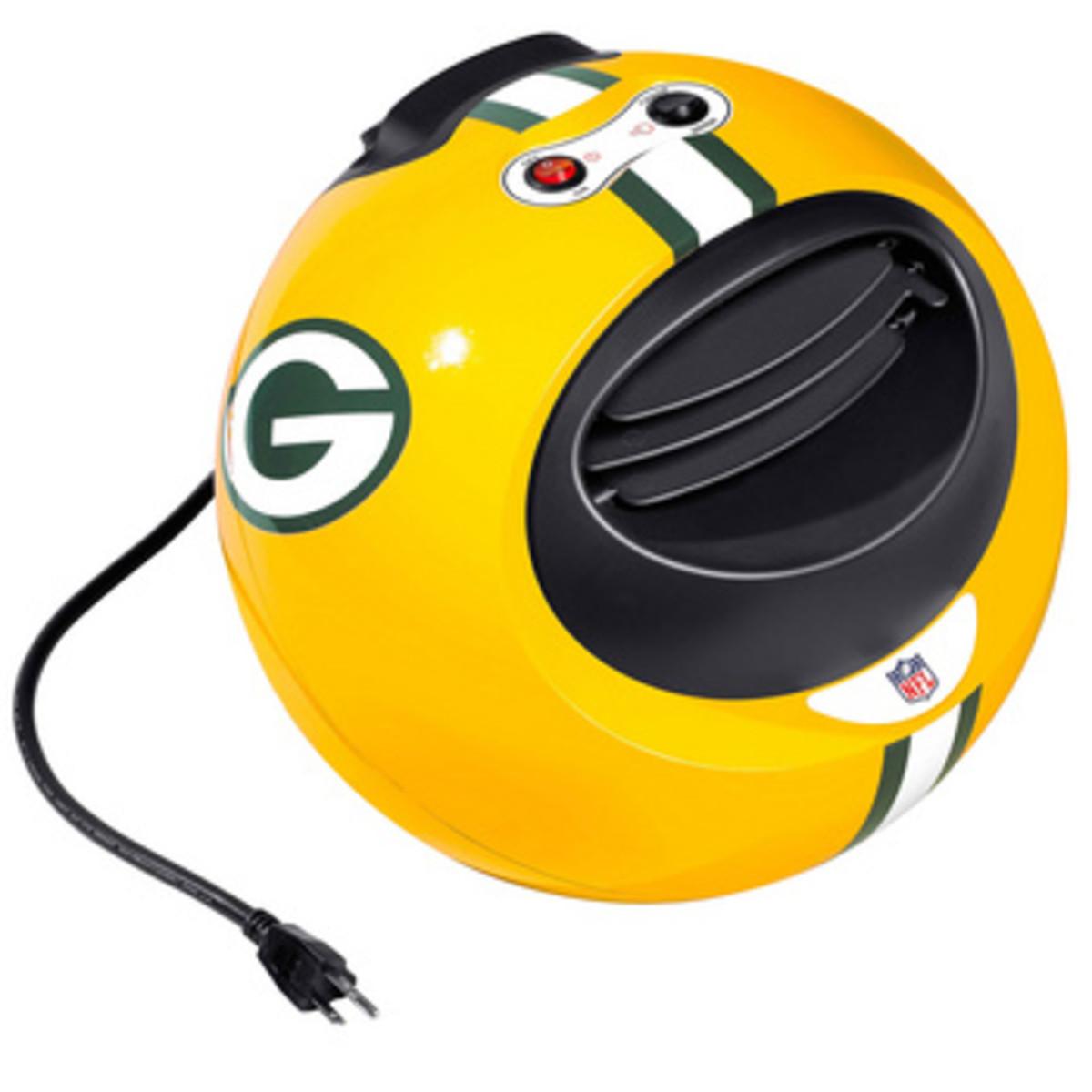Football Fan Gift - Infrared Space Heater in Green Bay Packer Logo