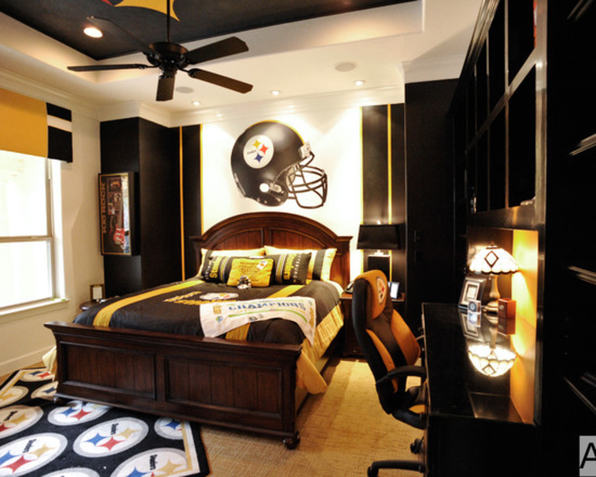 Elegant Football Designed Bedroom