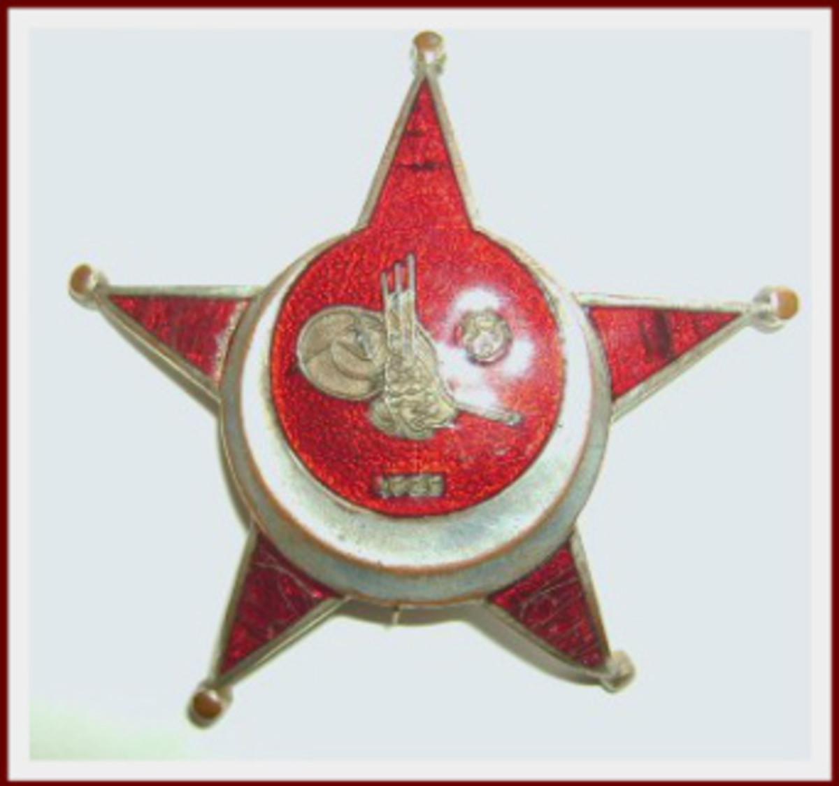 Dad's Galllipoli Star