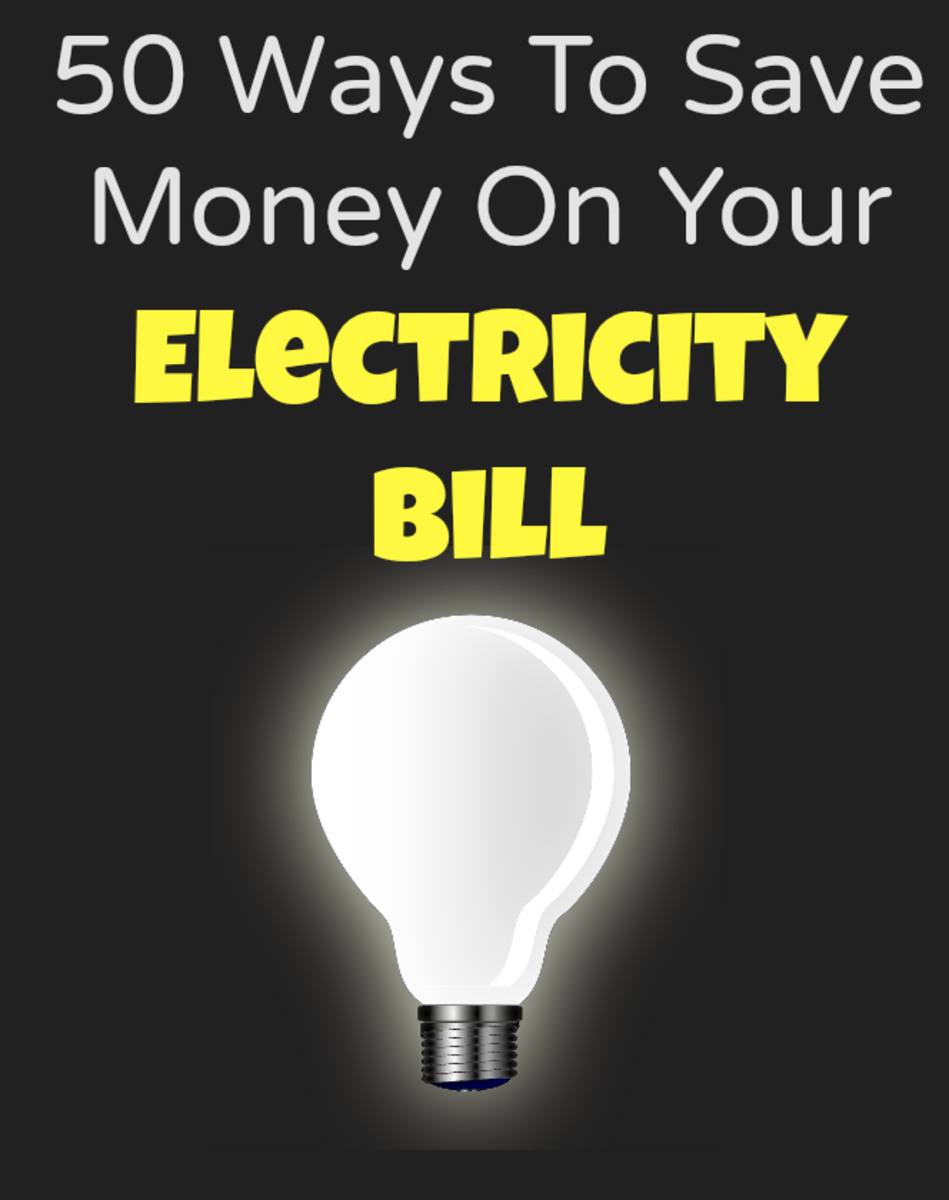 50 Ways To Save Money & Energy On Your Power Bill