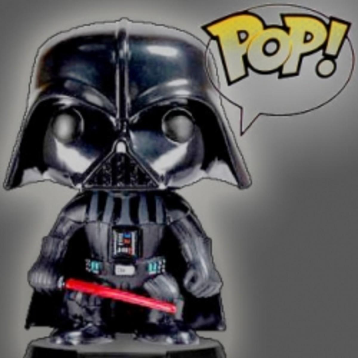 Funko Star Wars Pop Vinyl Toy Figures