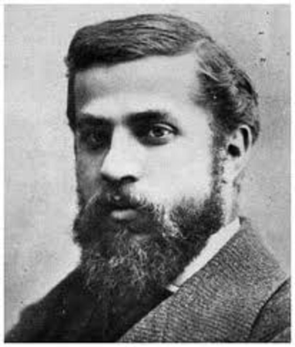 Antoni Gaudi, designer of La Sagrada Familia in Barcelona, Spain.
