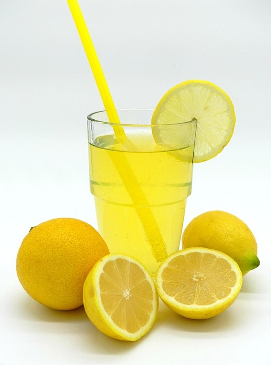 Each glass of lemonade is a unit